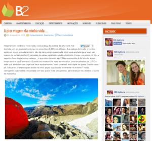 Blog B2 Agência - Agosto/2014